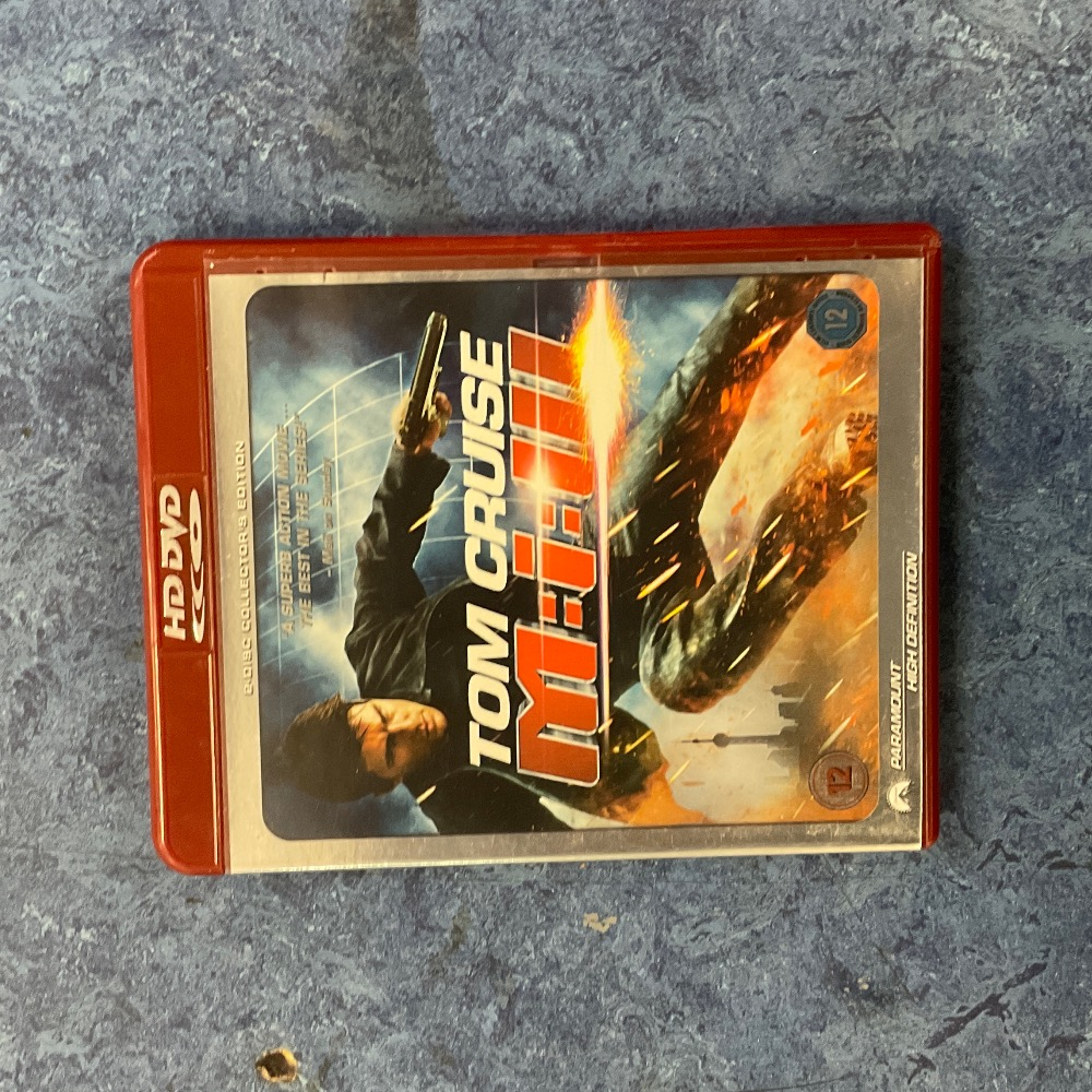 Product photo for Blu-ray Mission Impossible 3