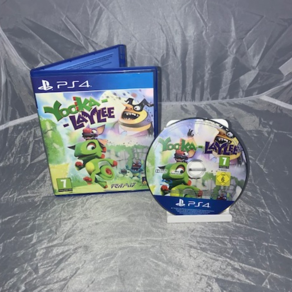 Product photo for PlayStation 4 Game Yooka-Laylee