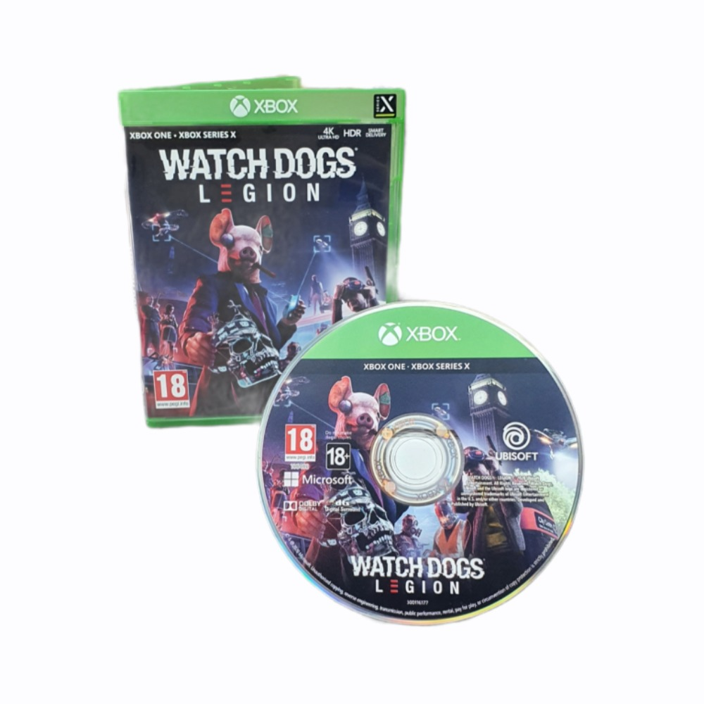 Product photo for Watch Dogs: Legion - Xbox One/Xbox Series X