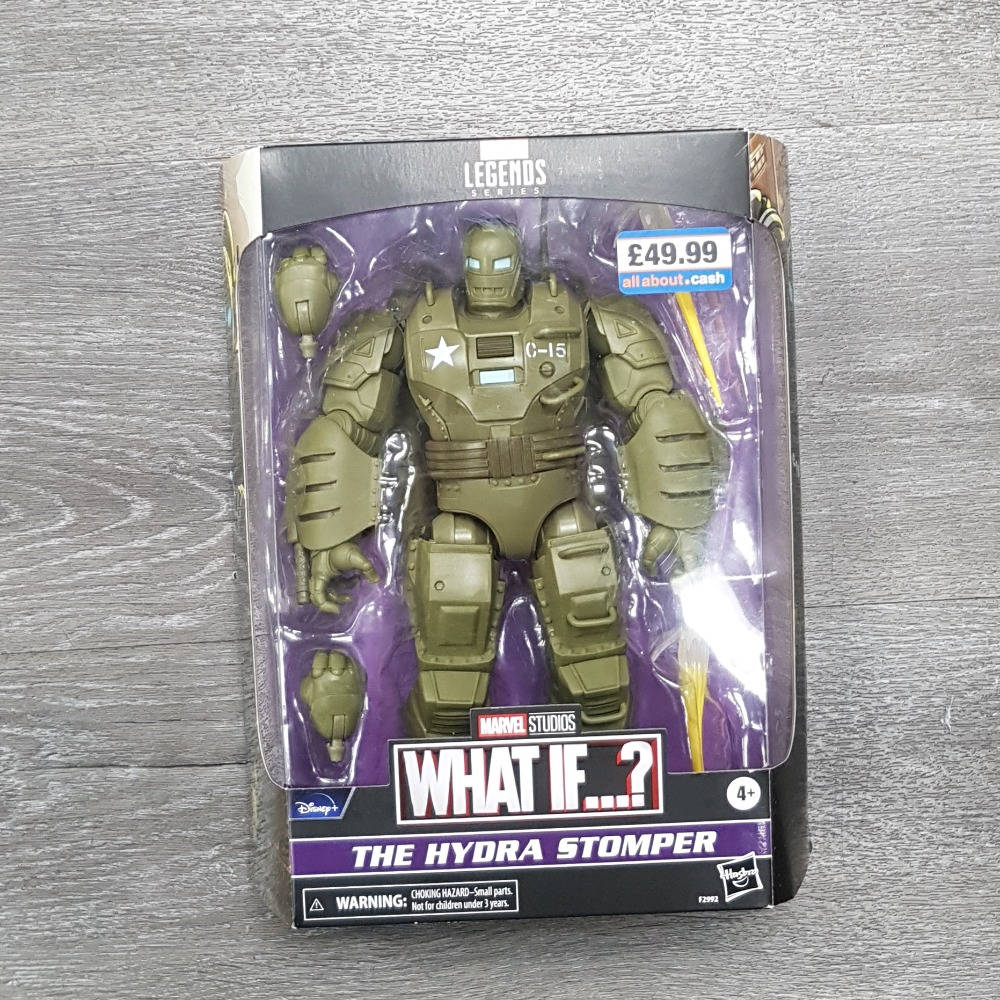 Product photo for Hasbro Marvel Legends What If...? 'The Hydra Stomper' Figurine (Sealed)