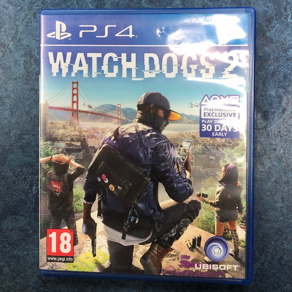 Product photo for Sony watchdogs 2