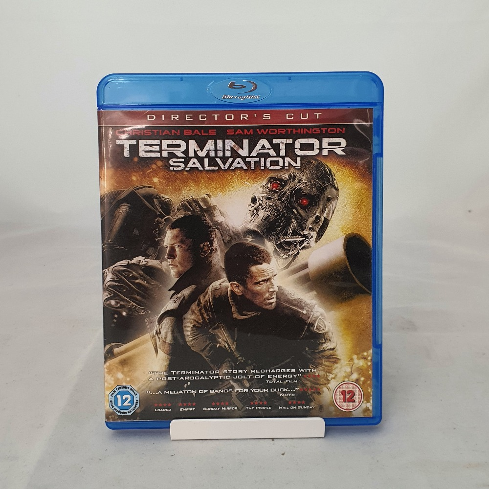 Product photo for Blu-ray Terminator Salvation