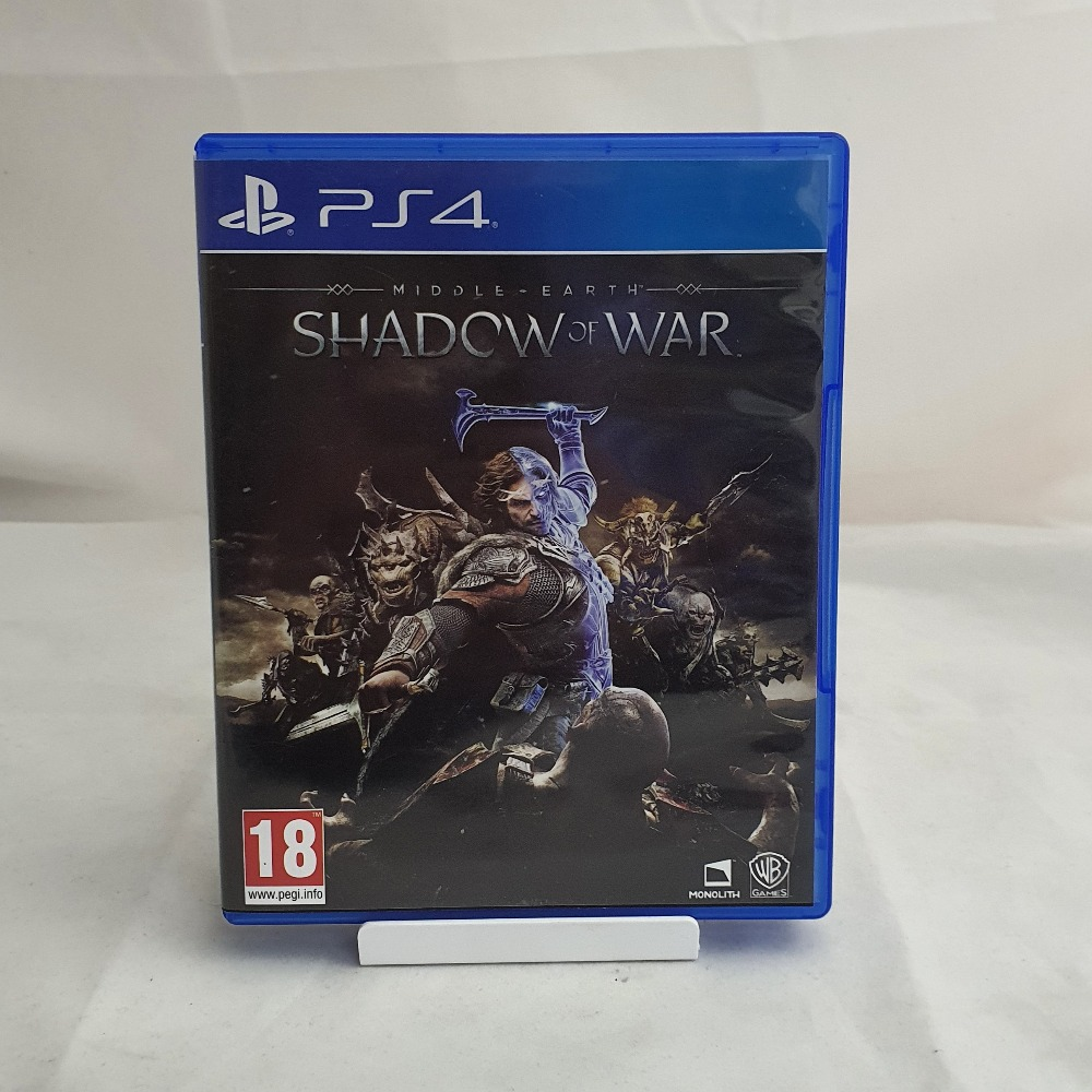Product photo for PS4 Game Middle-Earth: Shadow of War