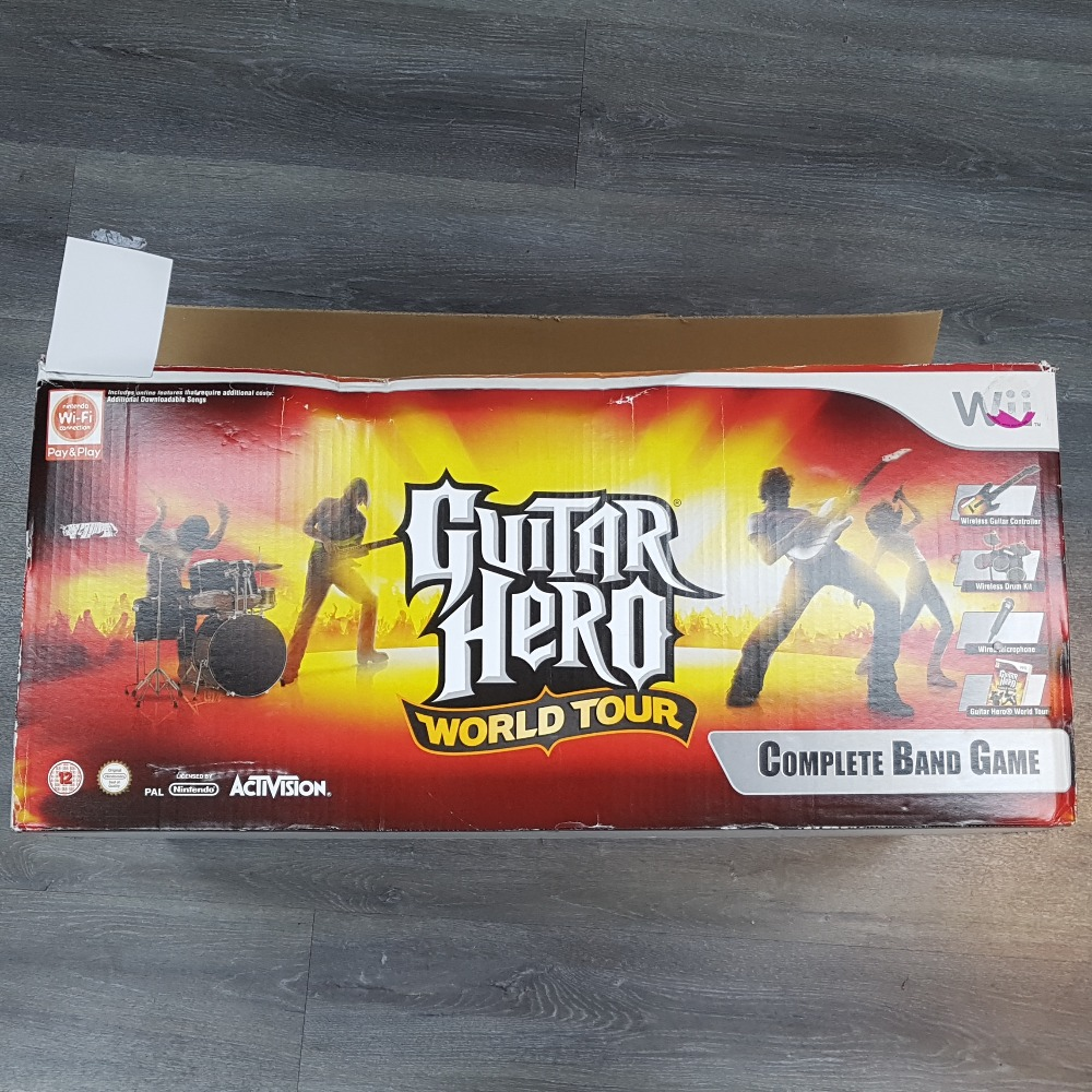 Product photo for Guitar Hero: World Tour Complete Band Set (Nintendo Wii)