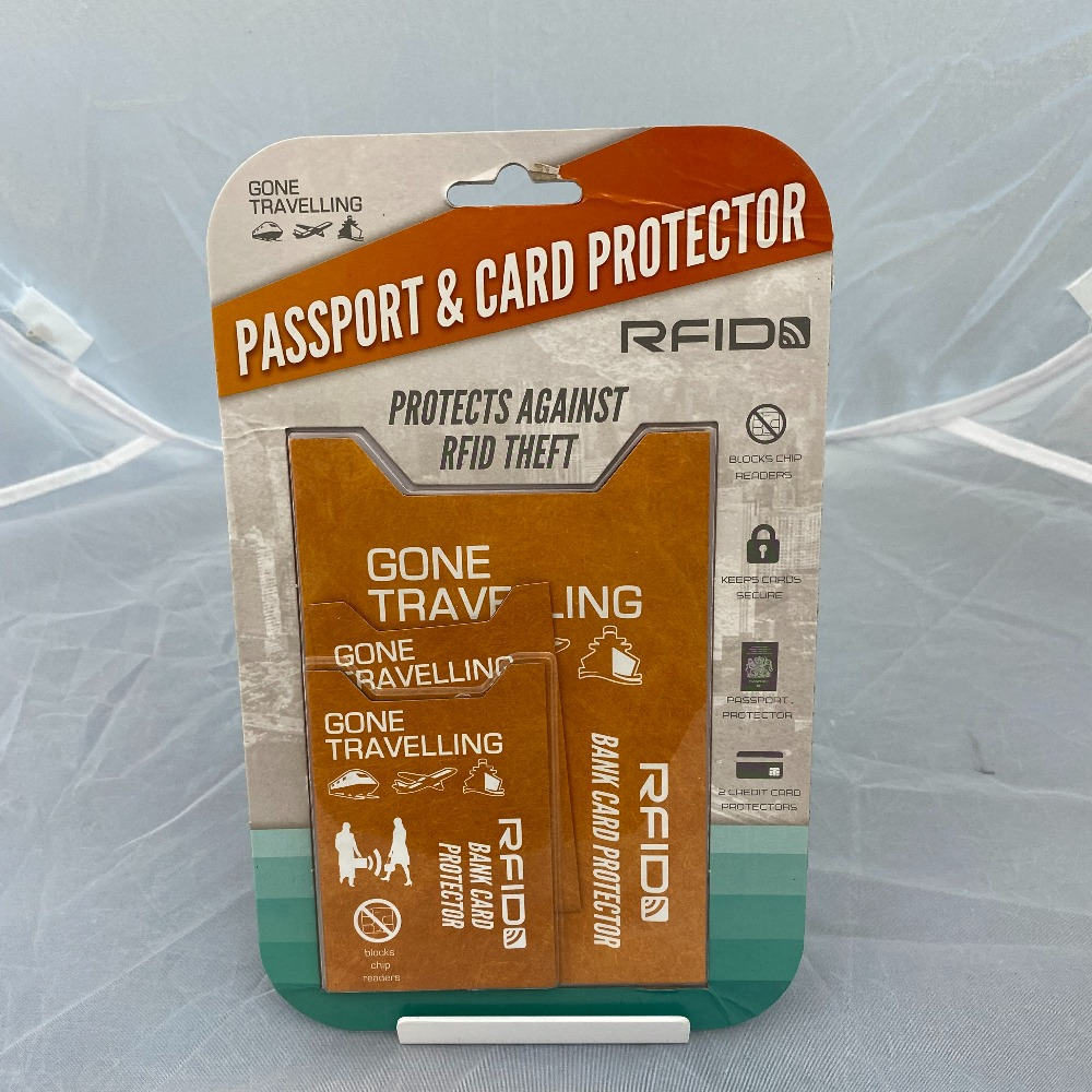 Product photo for Gone Travelling Passport & Card Protector