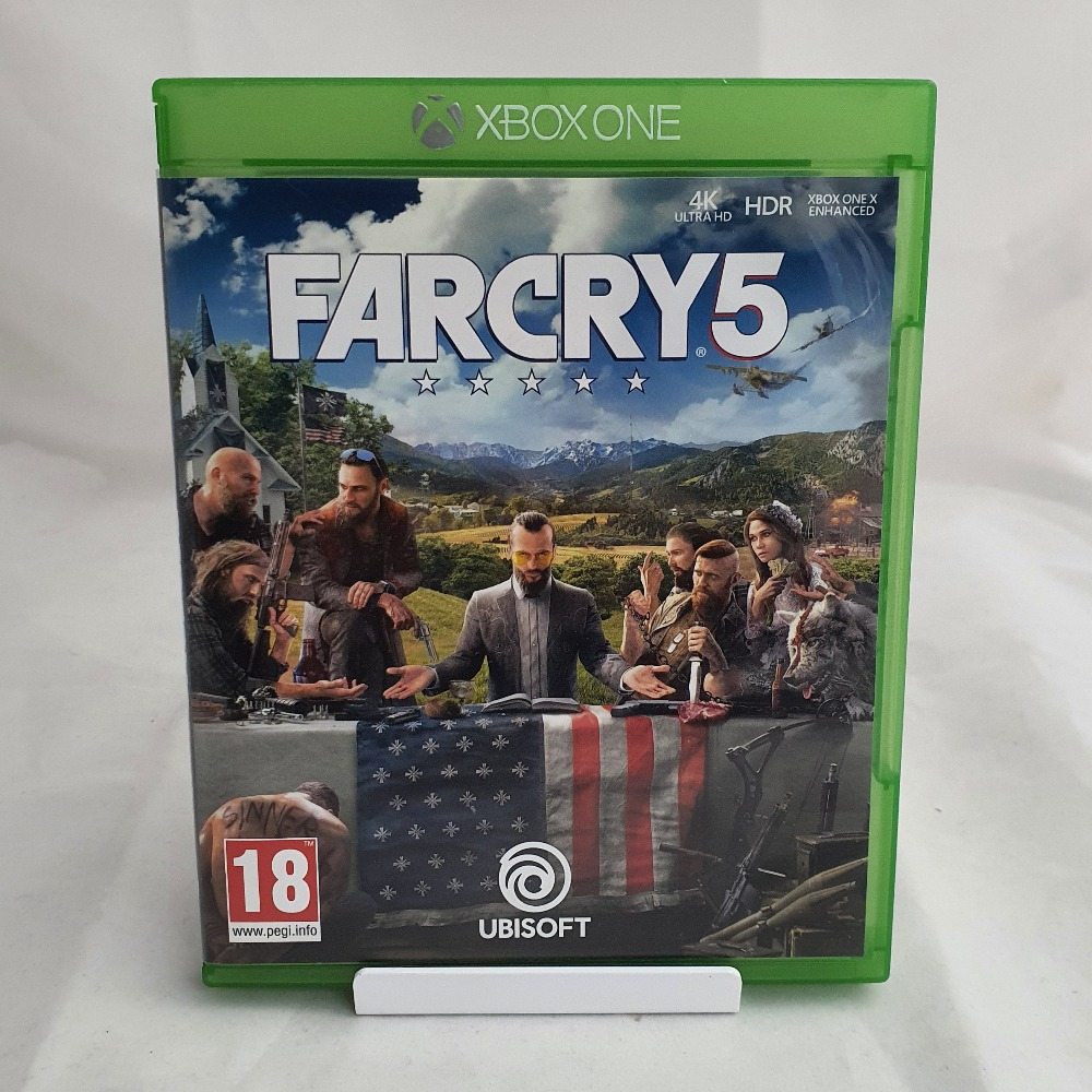 Product photo for  Xbox one game Far Cry 5
