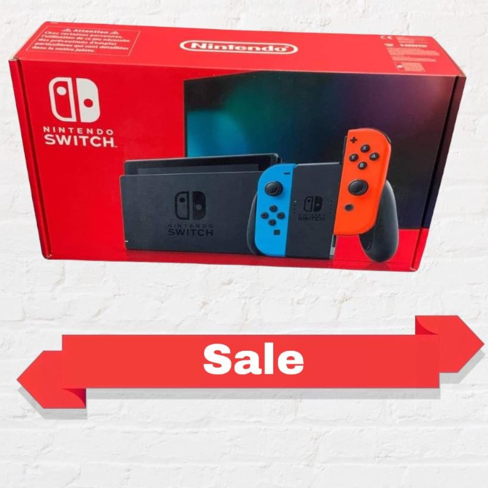 Product photo for !SALE! Nintendo Switch Neon Console (Sealed)
