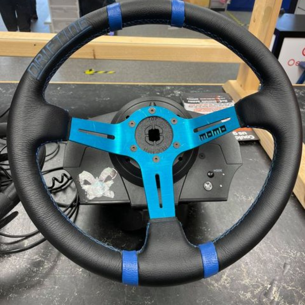 Product photo for MOMO Deep Drifting Steering Wheel