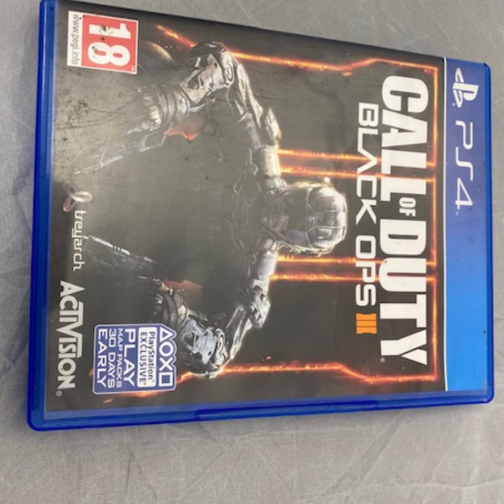 Product photo for PlayStation 4  COD Black Ops III