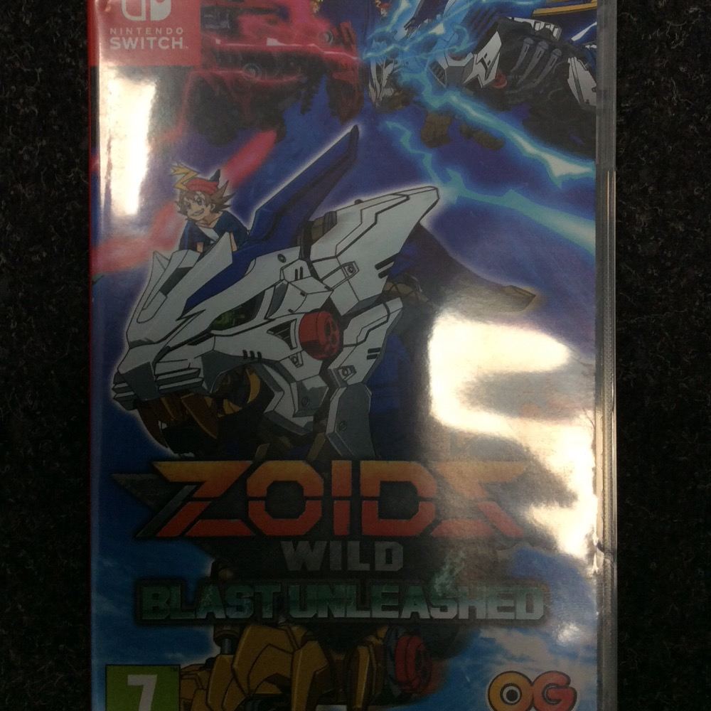 Product photo for ZOIDS wild blast unleashed
