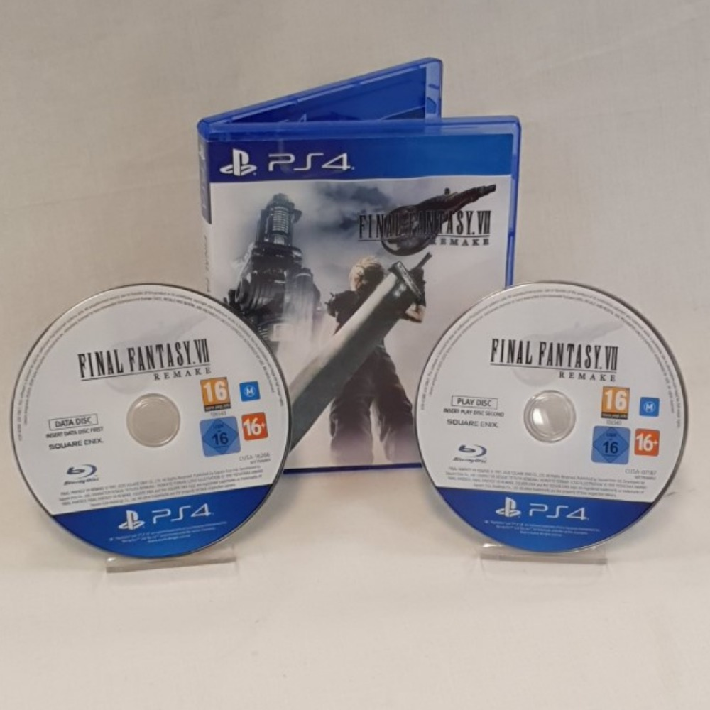 Product photo for Final Fantasy Remake - PS4