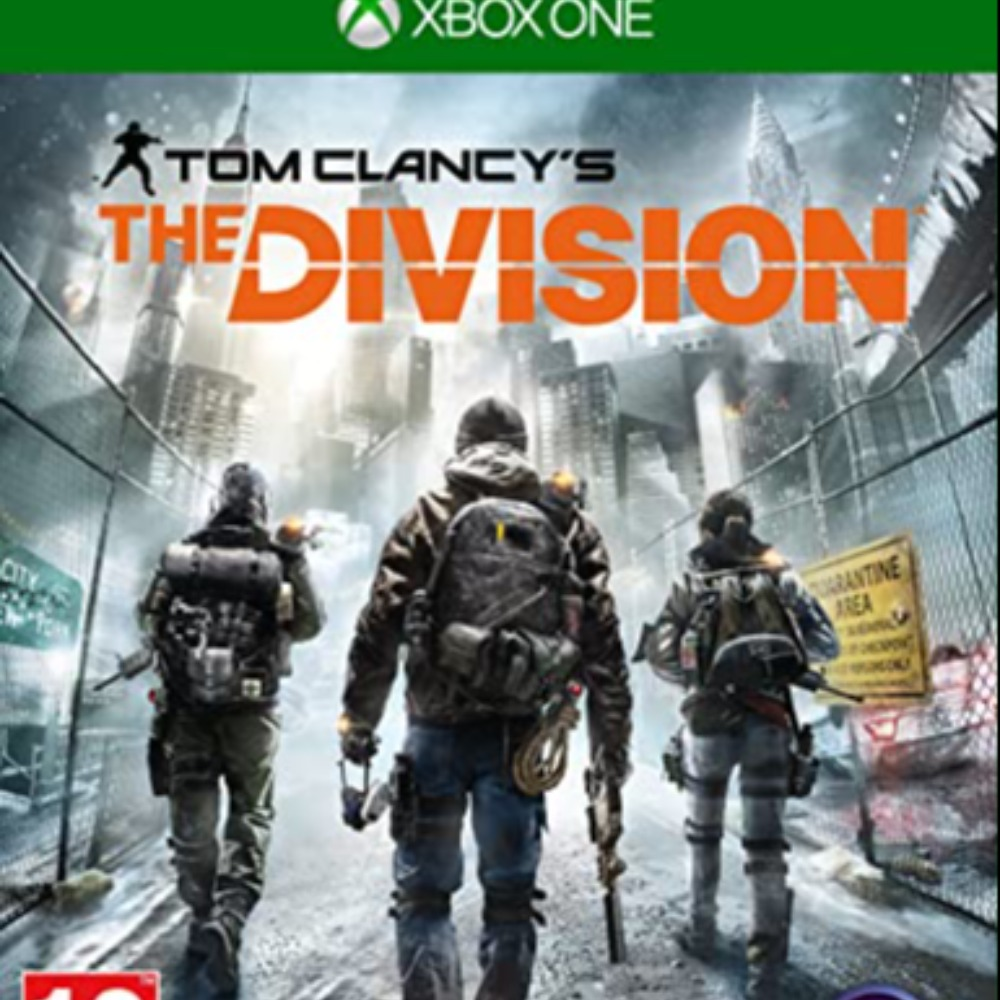 Product photo for The Division Xbox One Game