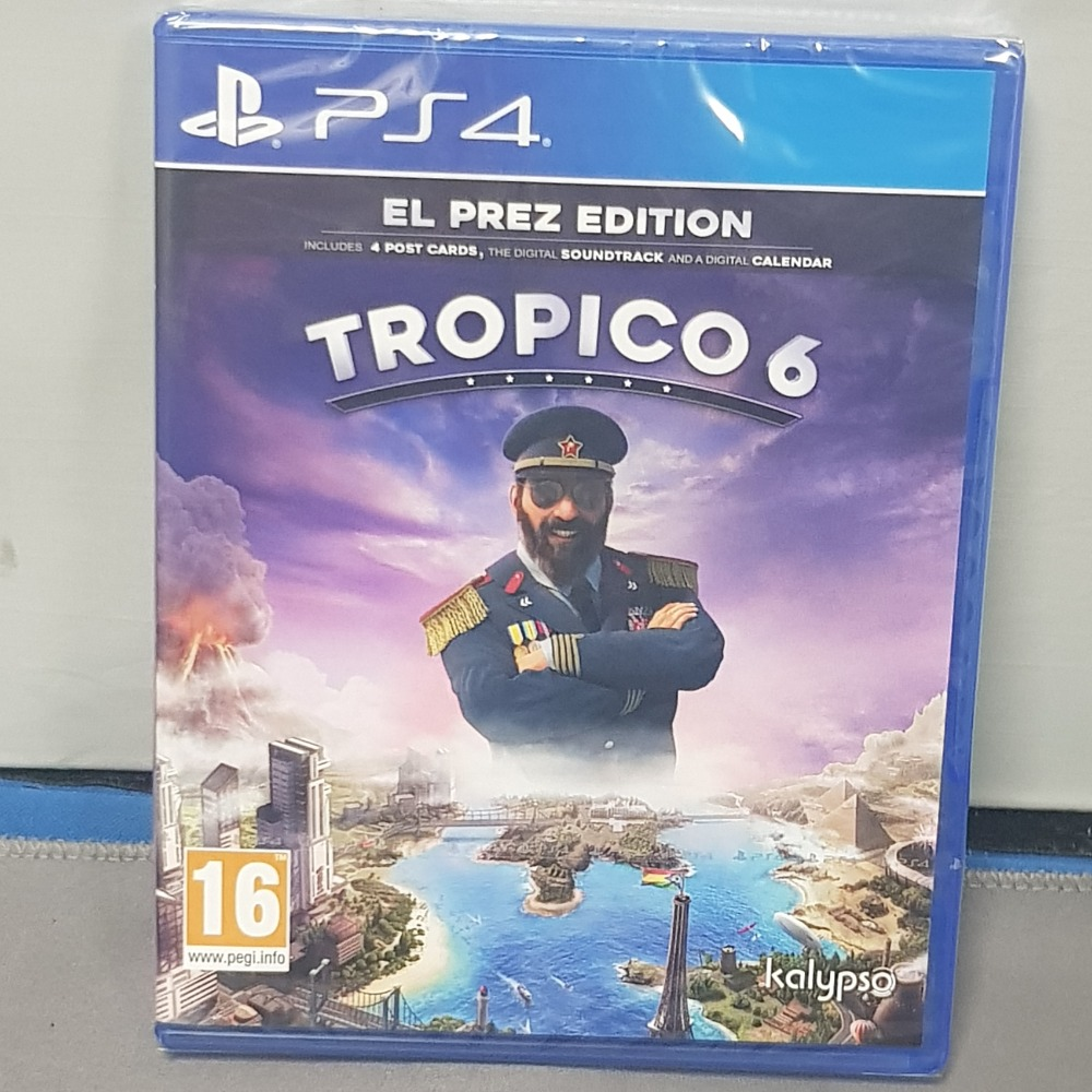Product photo for Tropico 6 EL Prez Ps4 Game