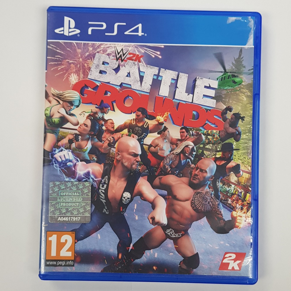 Product photo for Sony WWE 2K Battlegrounds (PlayStation 4)