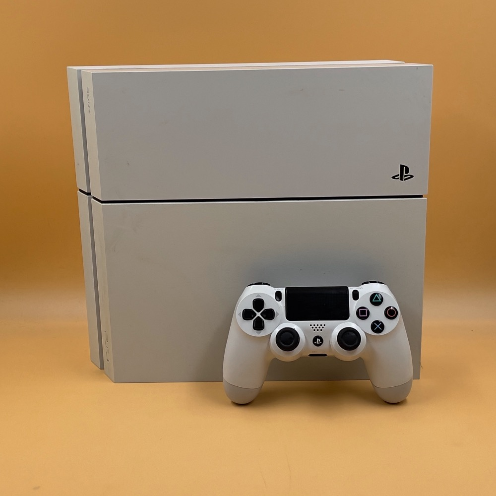 Product photo for SONY WHITE PLAYSTATION 4 500GB CONSOLE