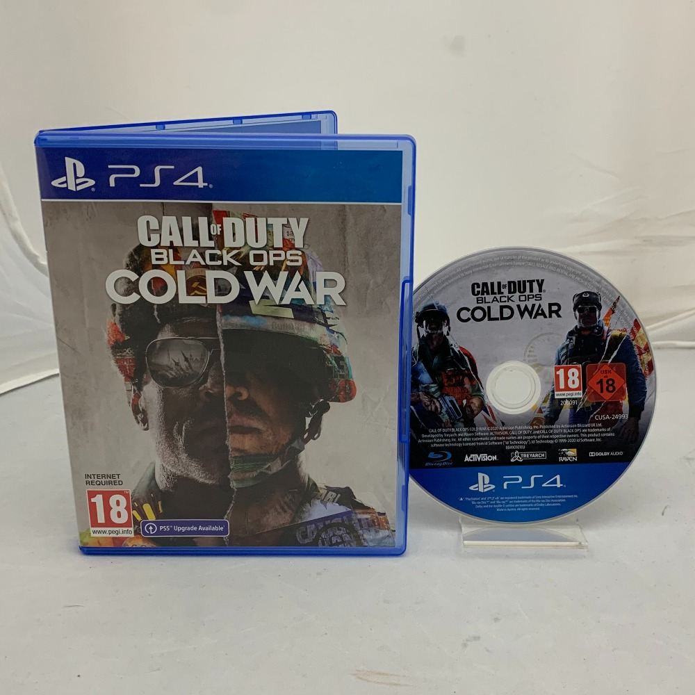 Product photo for Call of Duty: Black Ops Cold War (PS4)
