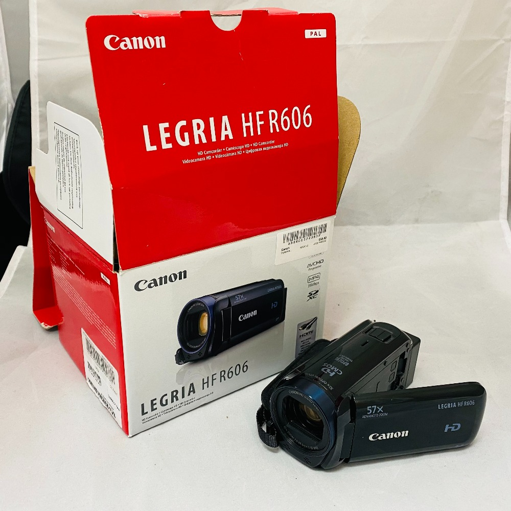 Product photo for Canon Legria HF R606 Camcorder HD Digital Video 1080P