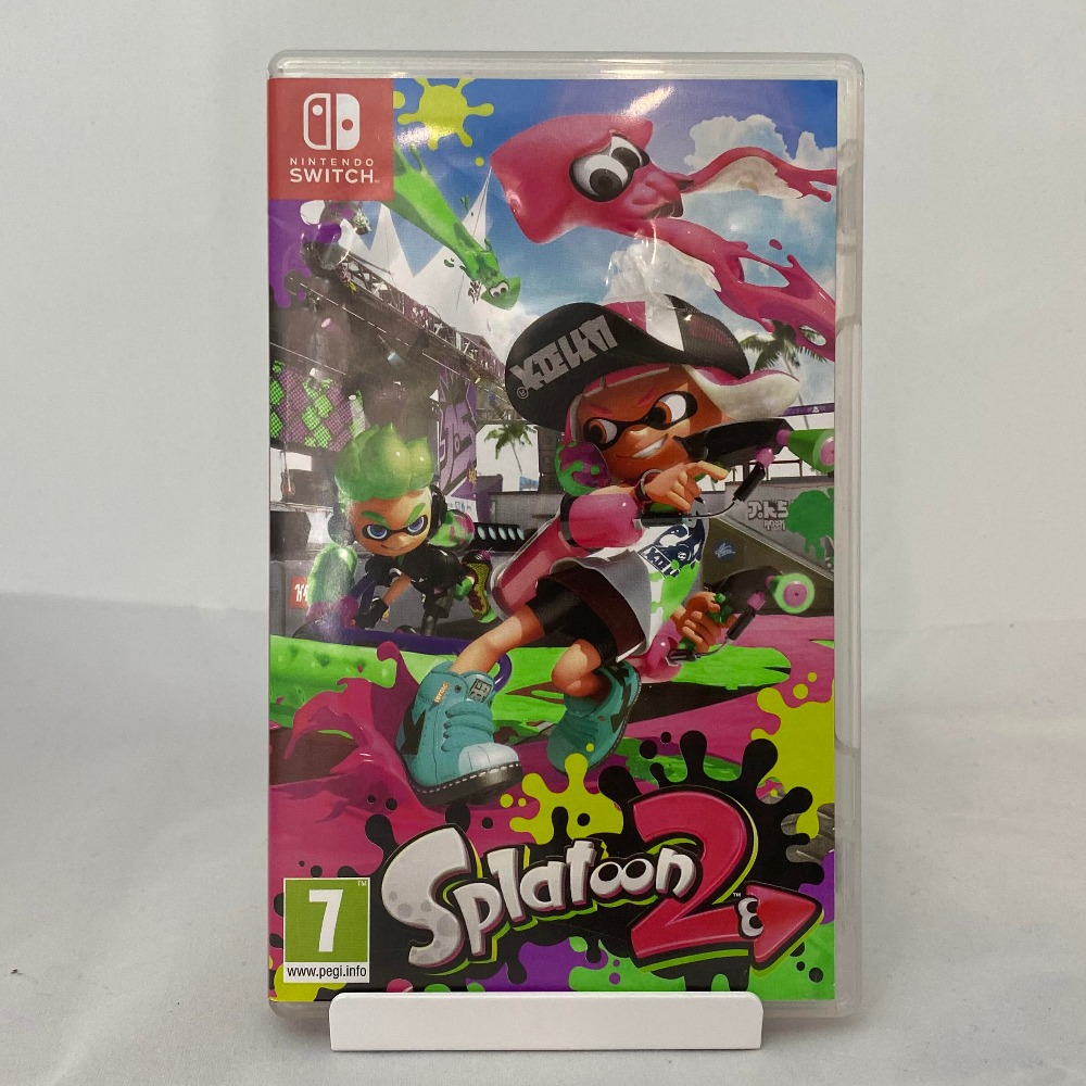 Product photo for Nintendo Switch Splatoon 2