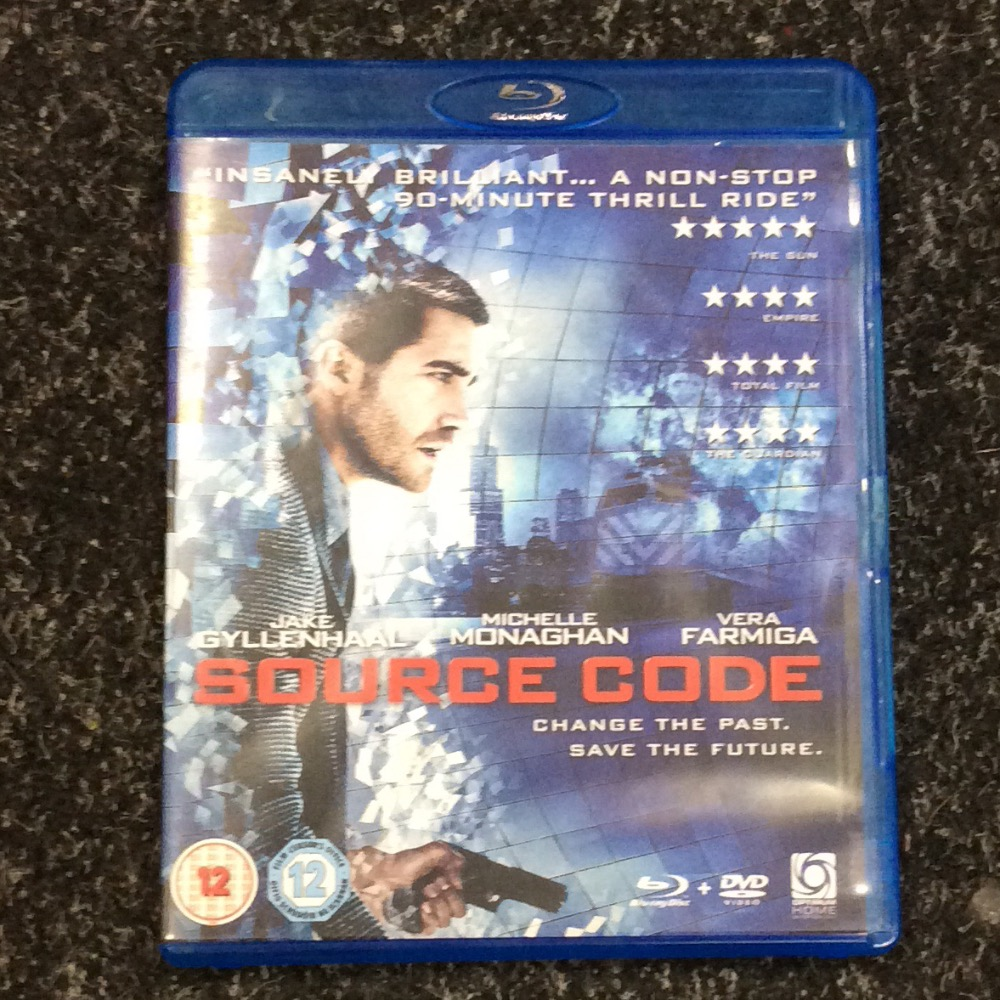 Product photo for Blu-ray Source Code