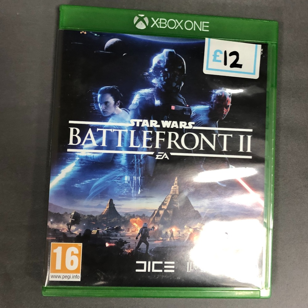 Product photo for Star Wars Battlefront 2 - Xbox One Game