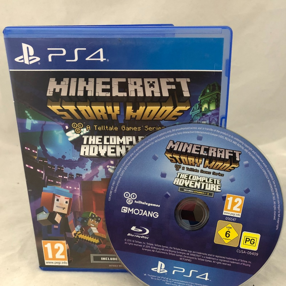 Product photo for Sony PlayStation 4 Minecraft