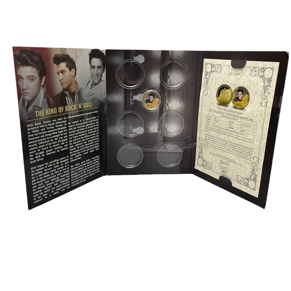 Product photo for Elvis presley coin