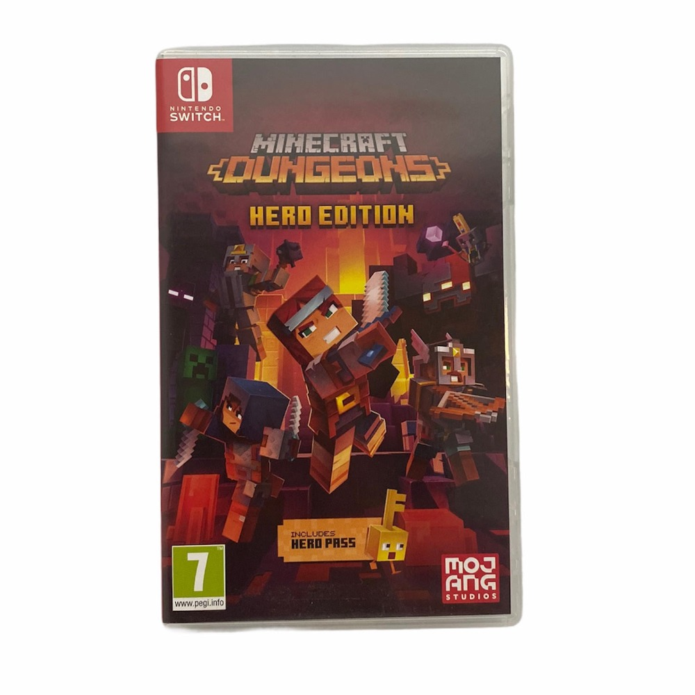 Product photo for Nintendo  Minecraft Dungeons