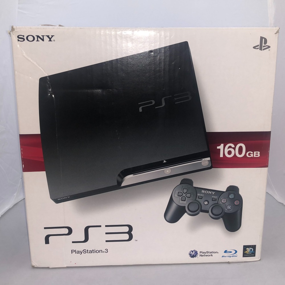 Product photo for PS3 Slim 160GB