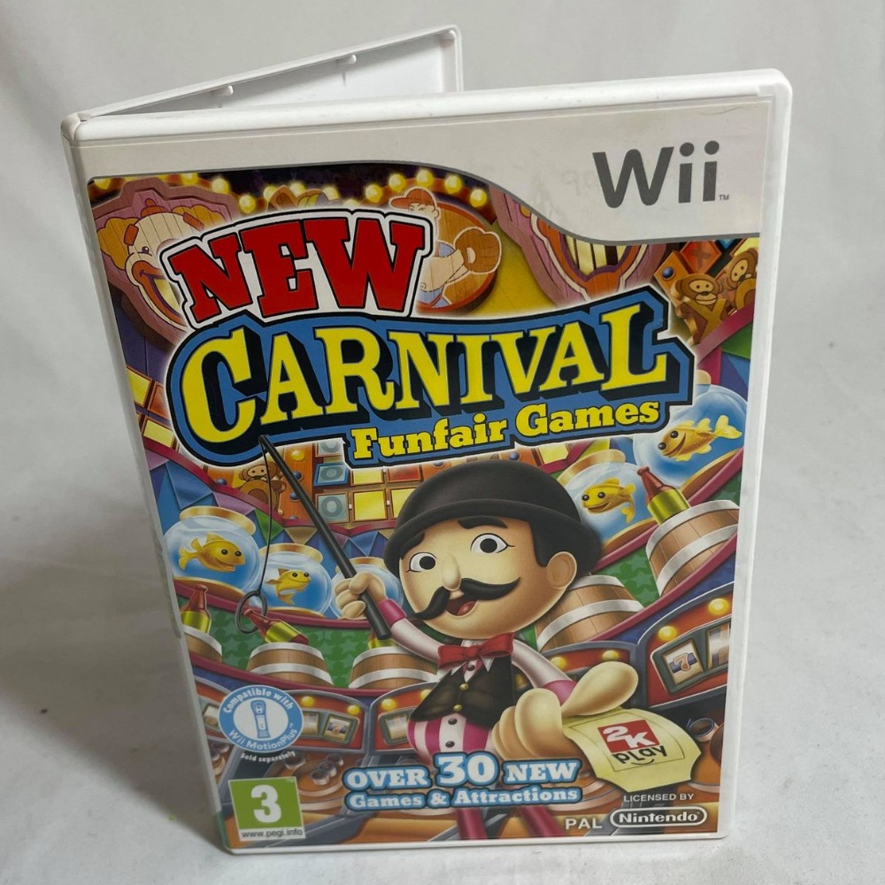 Product photo for Carnival Funfair Games Nintendo Wii Game