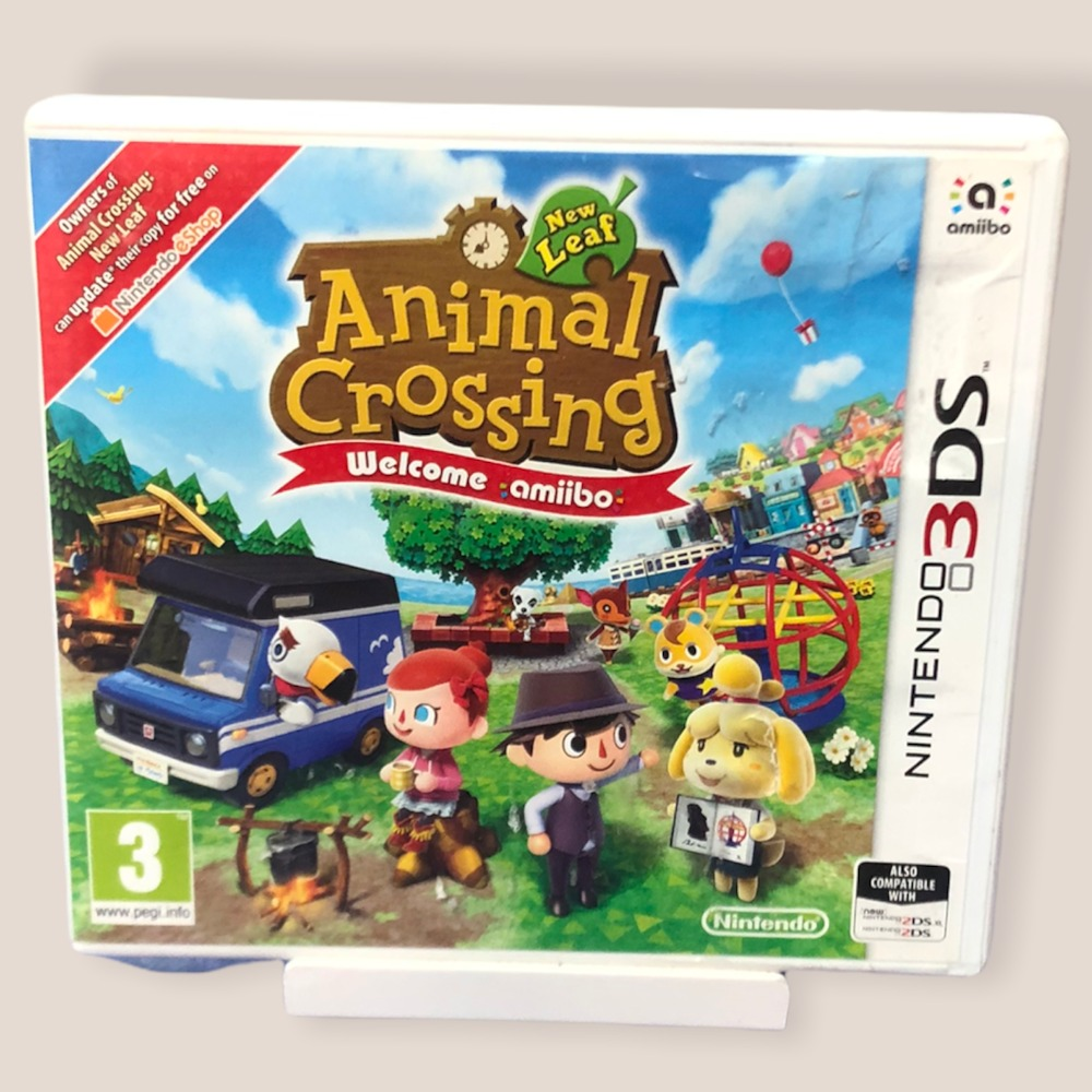 Product photo for Nintendo 3DS Game Animal Crossing: New leaf- welcome ammibo