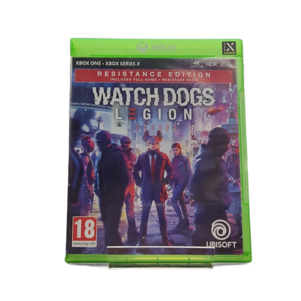 Product photo for  Microsoft Xbox one game Watchdogs Legion