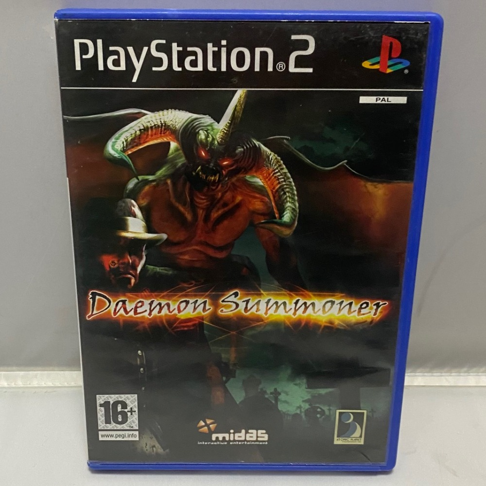 Product photo for PlayStation 2 Game Daemon Summoner PS2