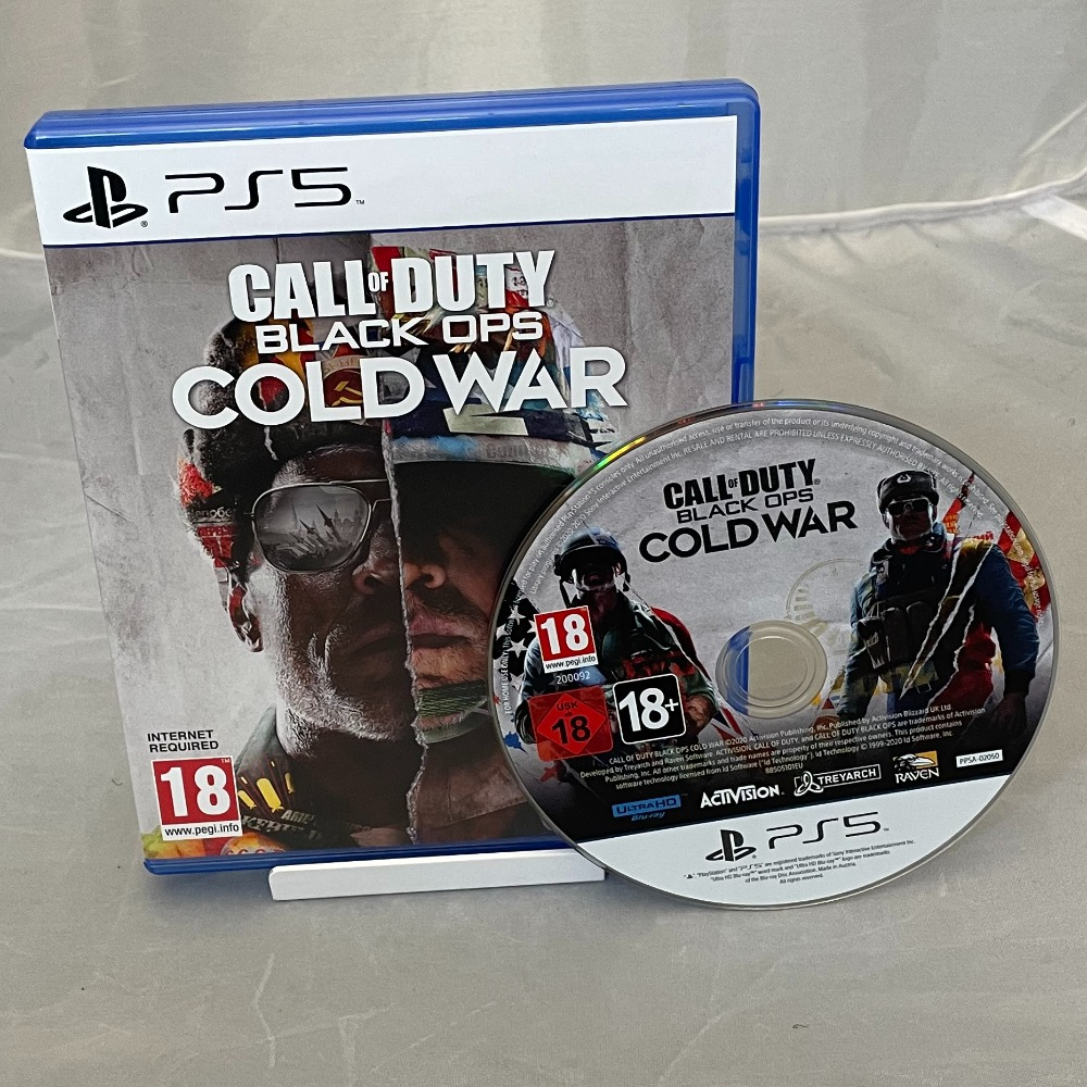 Product photo for Sony Call of Duty: Black Ops Cold War (PS5, 2020)