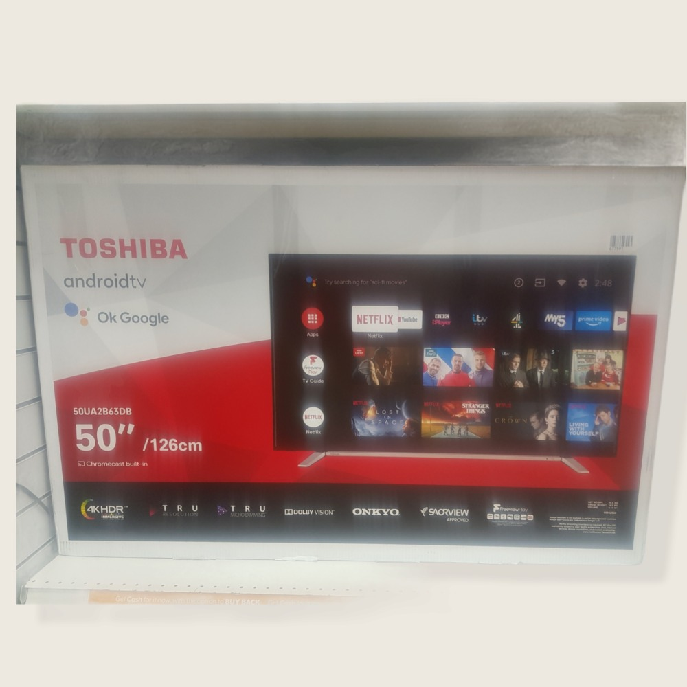 Product photo for 50''TOSHIBA Smart Android Tv