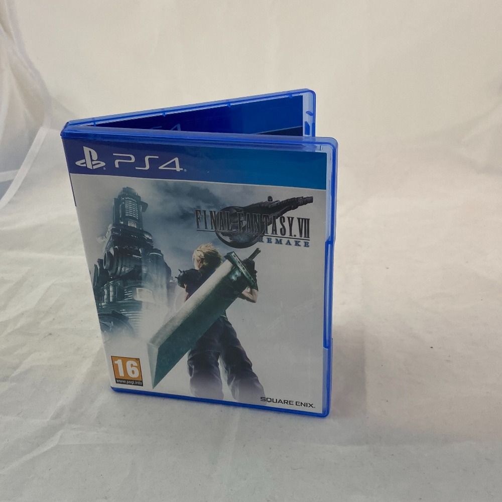 Product photo for PS4 Game Final fantasy VII Remake