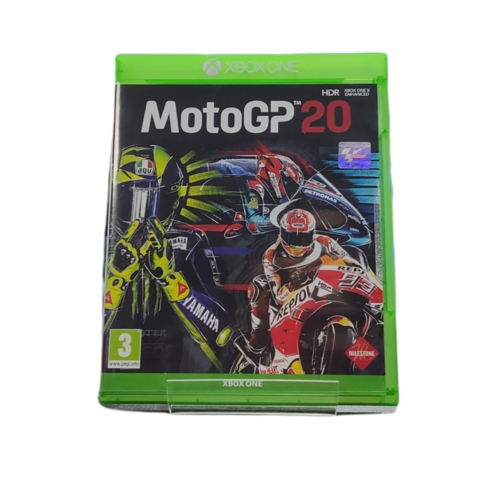 Product photo for  Microsoft Xbox one game Moto GP 20
