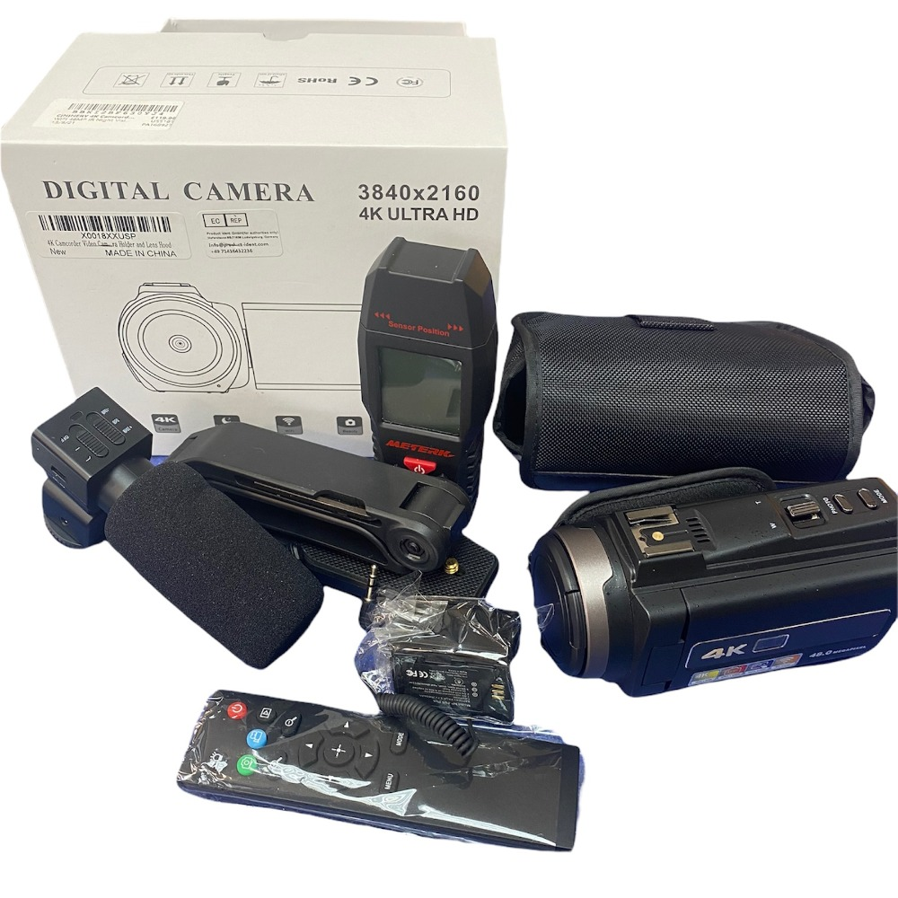 Product photo for CININERY 4K Camcorder Video Camera