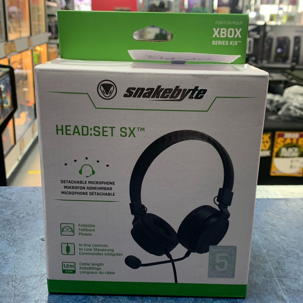 Product photo for SnakeByte Xbox One / Series X Wired Headset