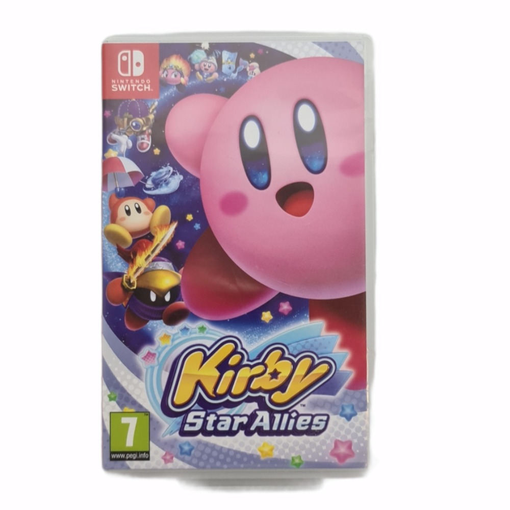 Product photo for Nintendo Switch Game Kirby Star Allies