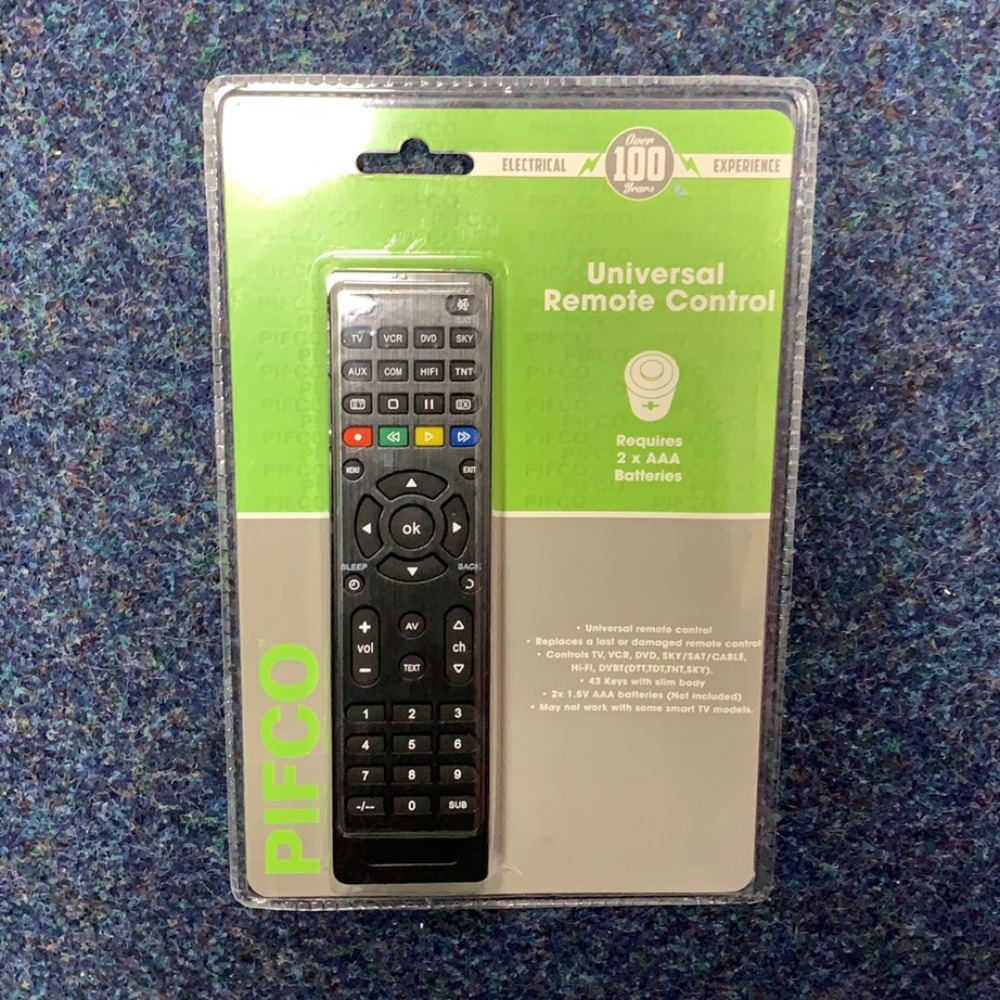 Product photo for Pifco Pifco universal remote