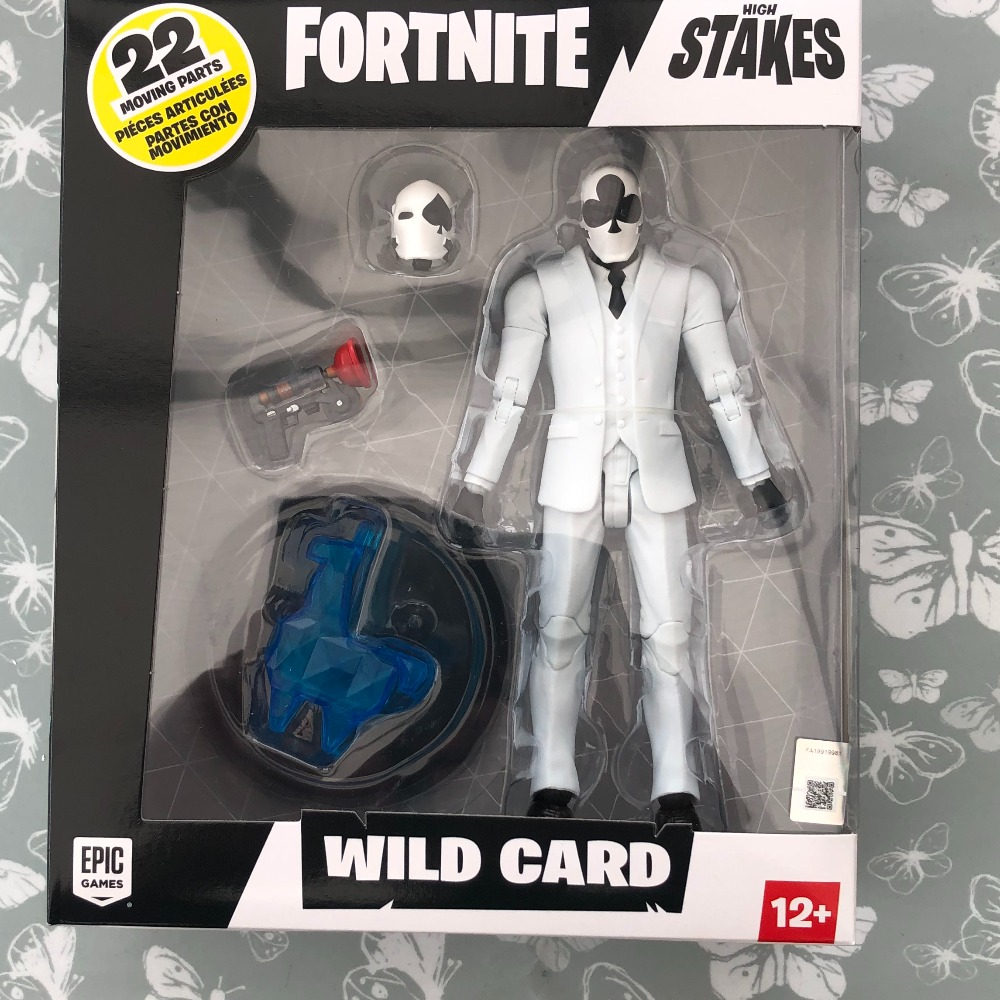 Product photo for Fortnite Wild Card black Suit Figure (Ages 12+)