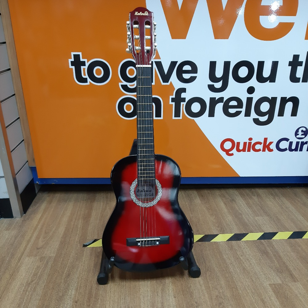 Product photo for Kolonie Junior Acoustic Guitar (RED)