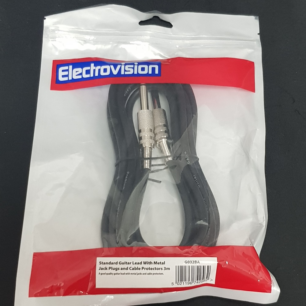 Product photo for Electrovision 3M Guitar Lead