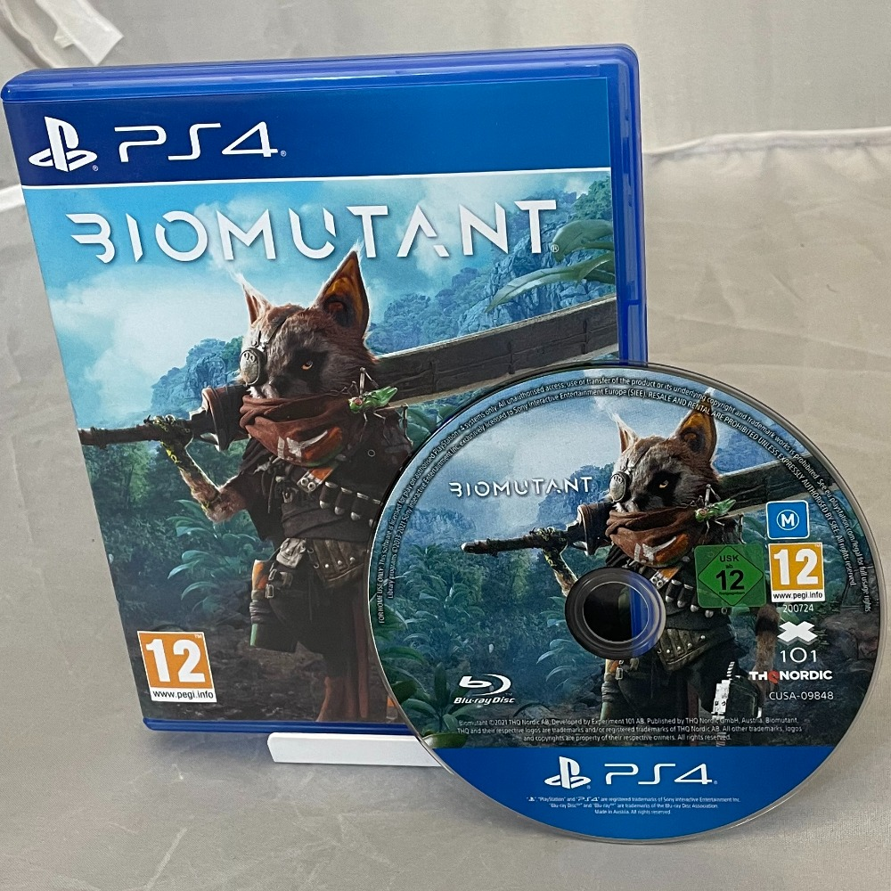Product photo for Sony Biomutant (PS4)