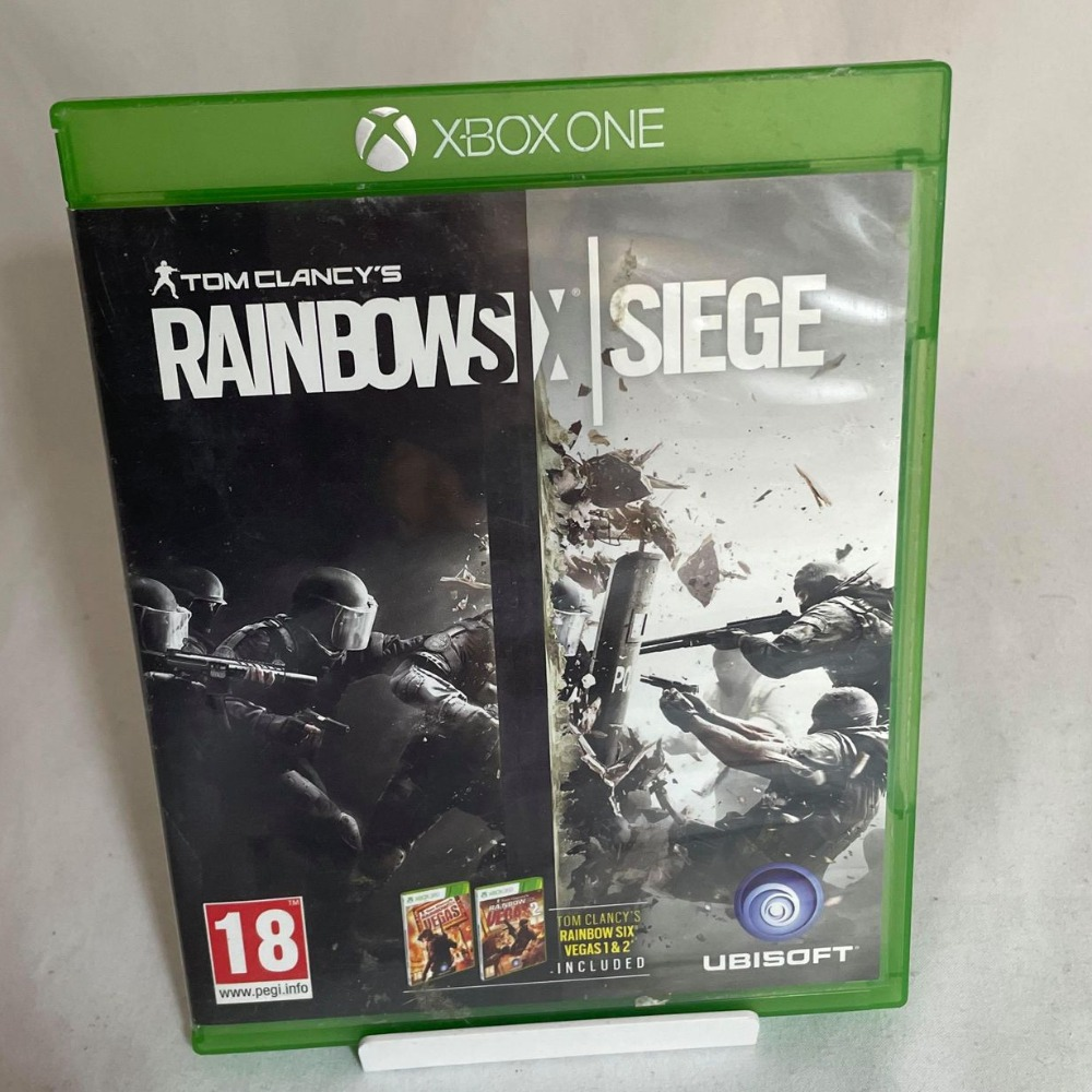Product photo for Rainbow Six Siege - Xbox One Game