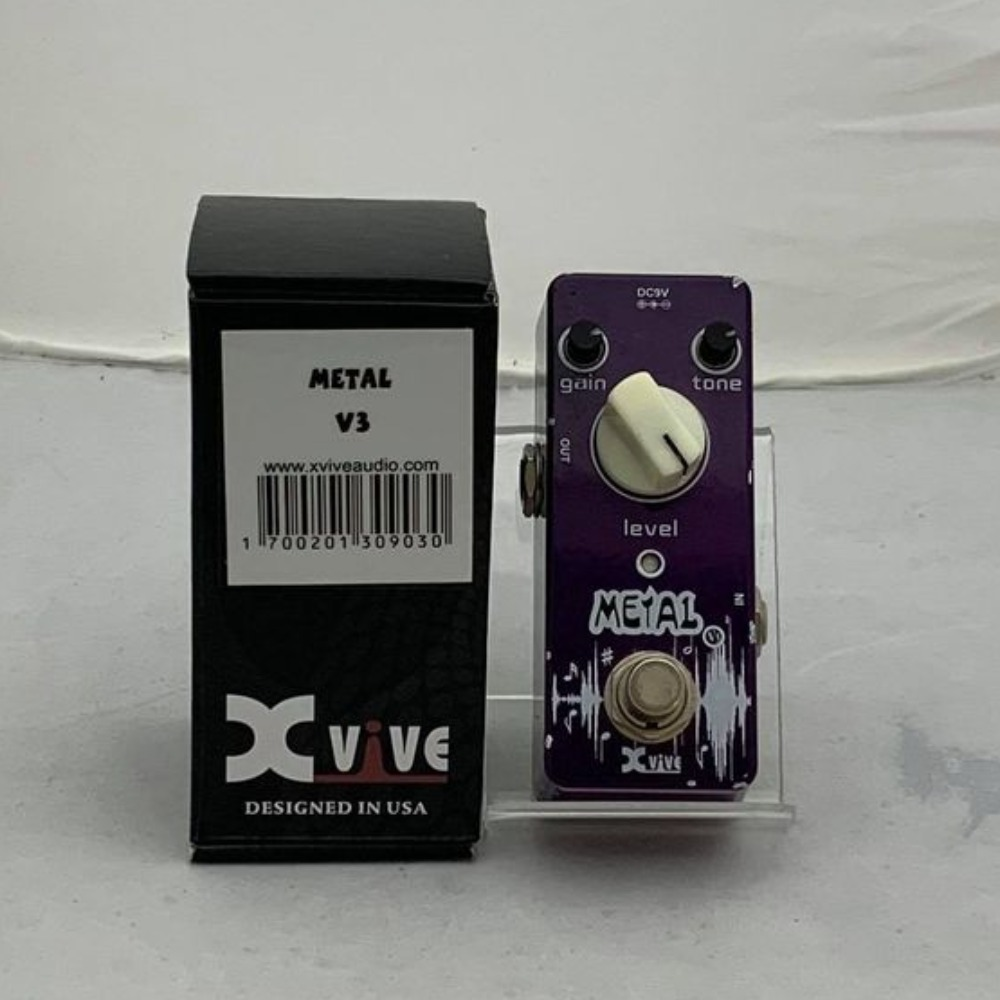 Product photo for XVive Metal V3 Pedal