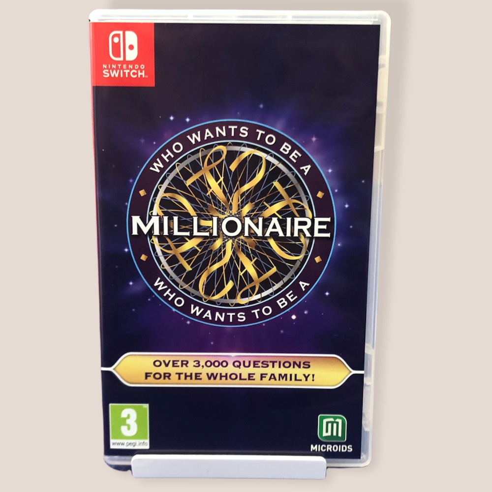 Product photo for Nintendo Switch Game Who Wants To Be A Millionaire