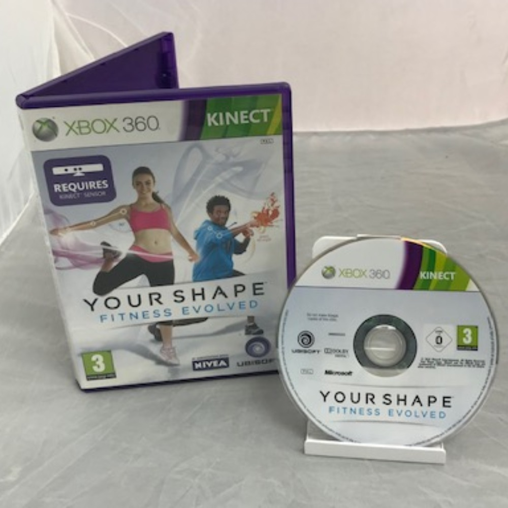 Product photo for Xbox 360 Game Your Shape: Fitness Evolved