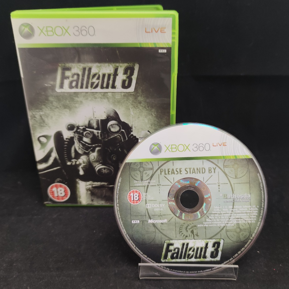 Product photo for  Microsoft Xbox 360 game Fallout 3