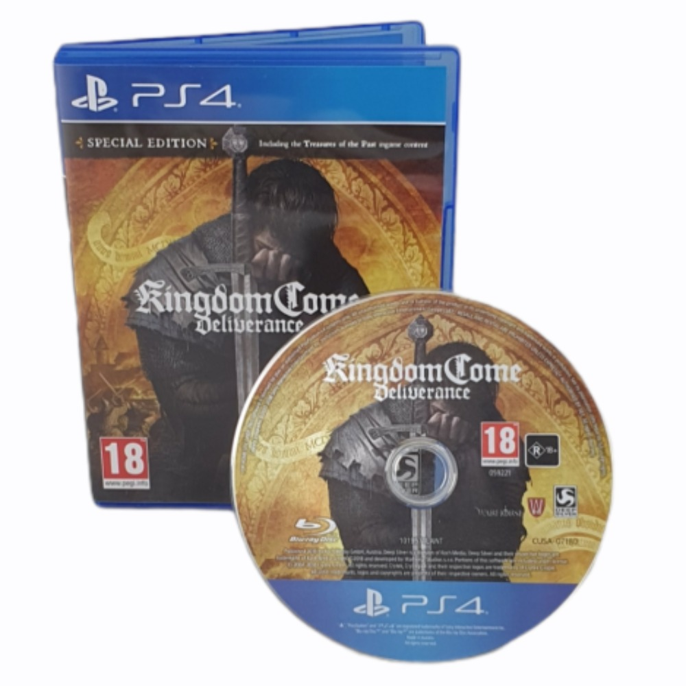 Product photo for Kingdom Come Deliverance - PlayStation 4 Game